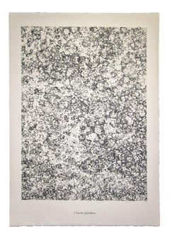 Terrain Graveleux - From Sols,Terres - Lithograph by Jean Dubuffet - 1959