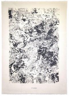 Territoire - Original Lithograph by Jean Dubuffet - 1959