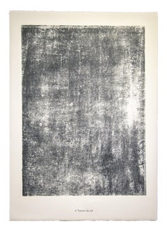 Texture de sol-From Sols, Terres - Original Lithograph by Jean Dubuffet - 1959