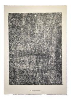 Texture Frémissante - Original Lithograph by Jean Dubuffet - 1959