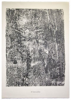 Texture Profuse - Original Lithograph by Jean Dubuff - 1959
