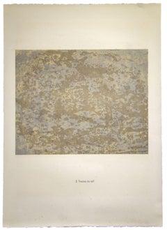 Traces au sol - Original Lithograph by Jean Dubuffet - 1959