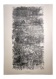 Transmissions - Original Lithograph by Jean Dubuffet - 1959