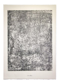 Vie Diffuse - From Sols, Terres - Original Lithograph by Jean Dubuffet - 1959