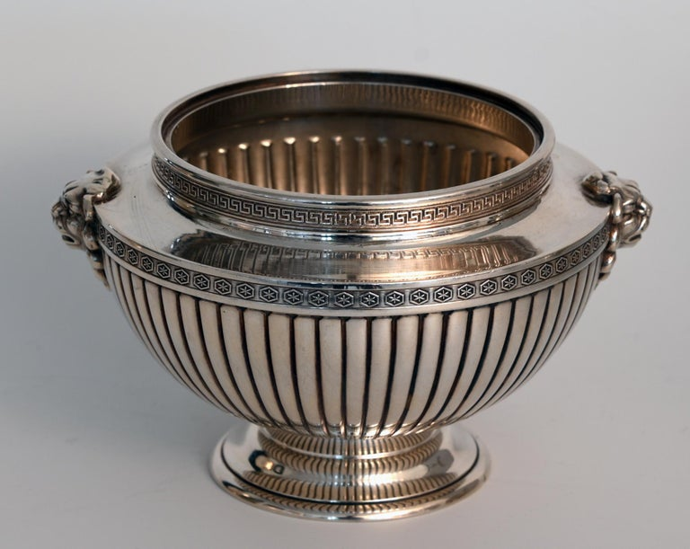 20th Century Jean E. Puiforcat Silver Timeless Set for Tea and Coffee in Neoclassical Form For Sale