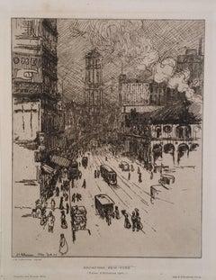 Broadway, New York, 1907