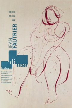 Jean Fautrier - Galerie Di Meo - 2006