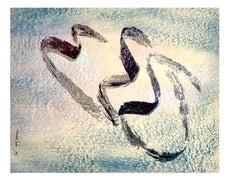 Jean Fautrier -  Naked Annabelle - Original Lithograph