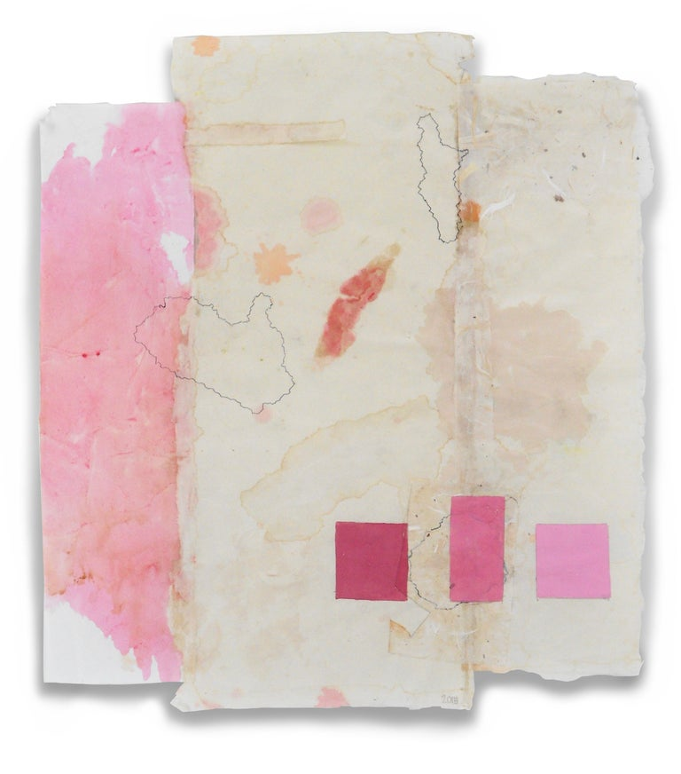 Jean Feinberg Abstract Drawing - P3.15 (Abstract Painting)