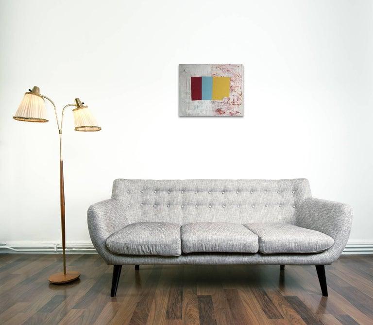 R/Y/B - Painting by Jean Feinberg