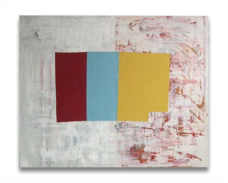 Jean Feinberg Abstract Painting - R/Y/B