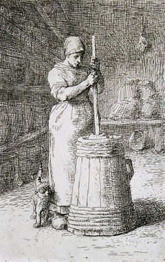 La Barateuse (Woman Churning).