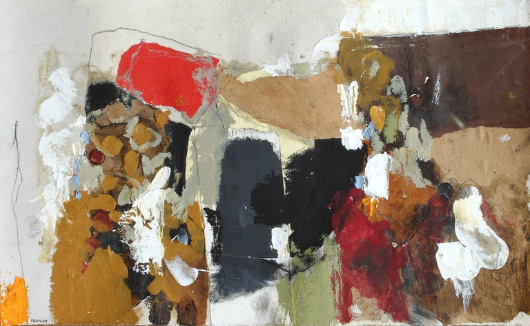Jean-François Provost Abstract Painting - Empreinte 5