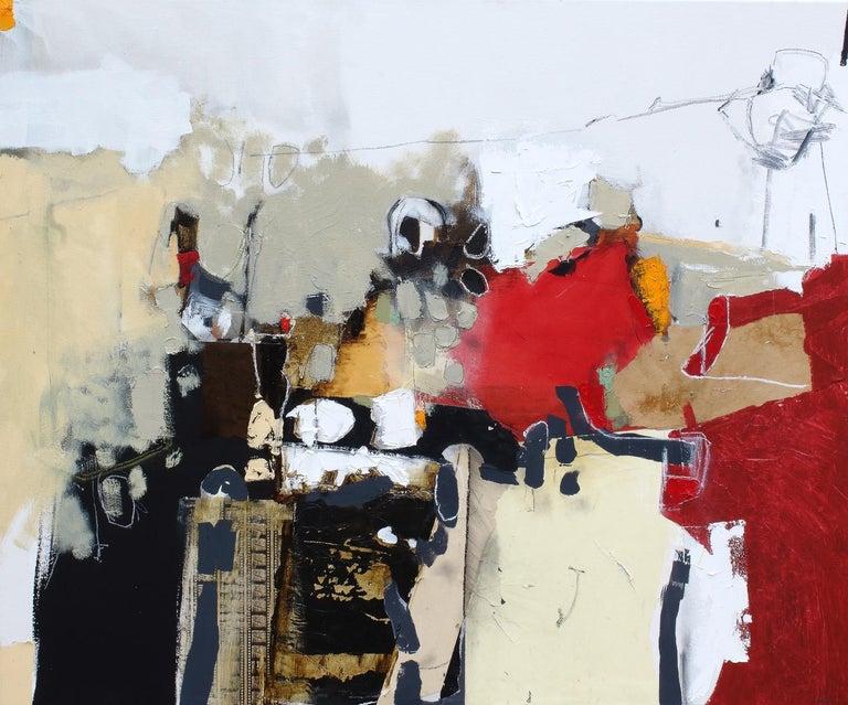 Jean-François Provost Abstract Painting - Matières en mouvement 21