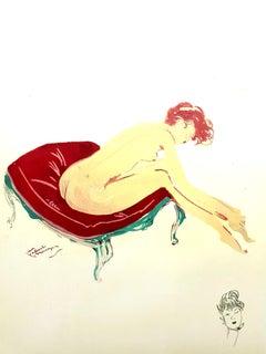 Domergue - Elegance - Original Signed Lithograph