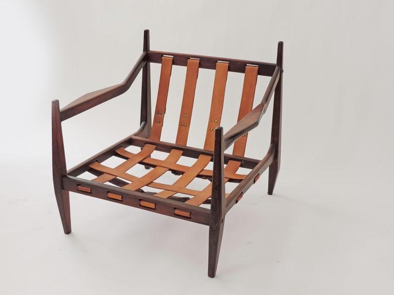 Brazilian Jean Gillon Pair of Armchairs, Brazil, 1960 For Sale