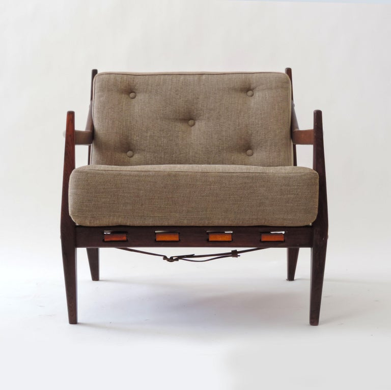 Jean Gillon Pair of Armchairs, Brazil, 1960 For Sale 1