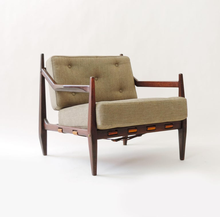 Jean Gillon Pair of Armchairs, Brazil, 1960 For Sale 2