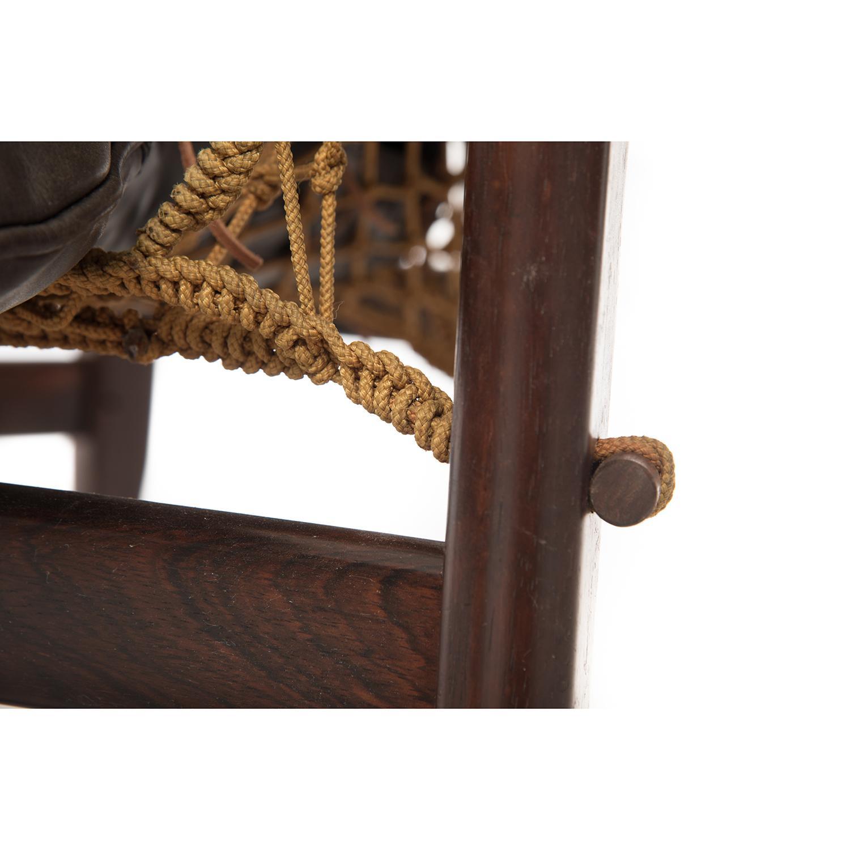 Marvelous Jean Guillon Rosewood Lounge Chair And Ottoman Inzonedesignstudio Interior Chair Design Inzonedesignstudiocom