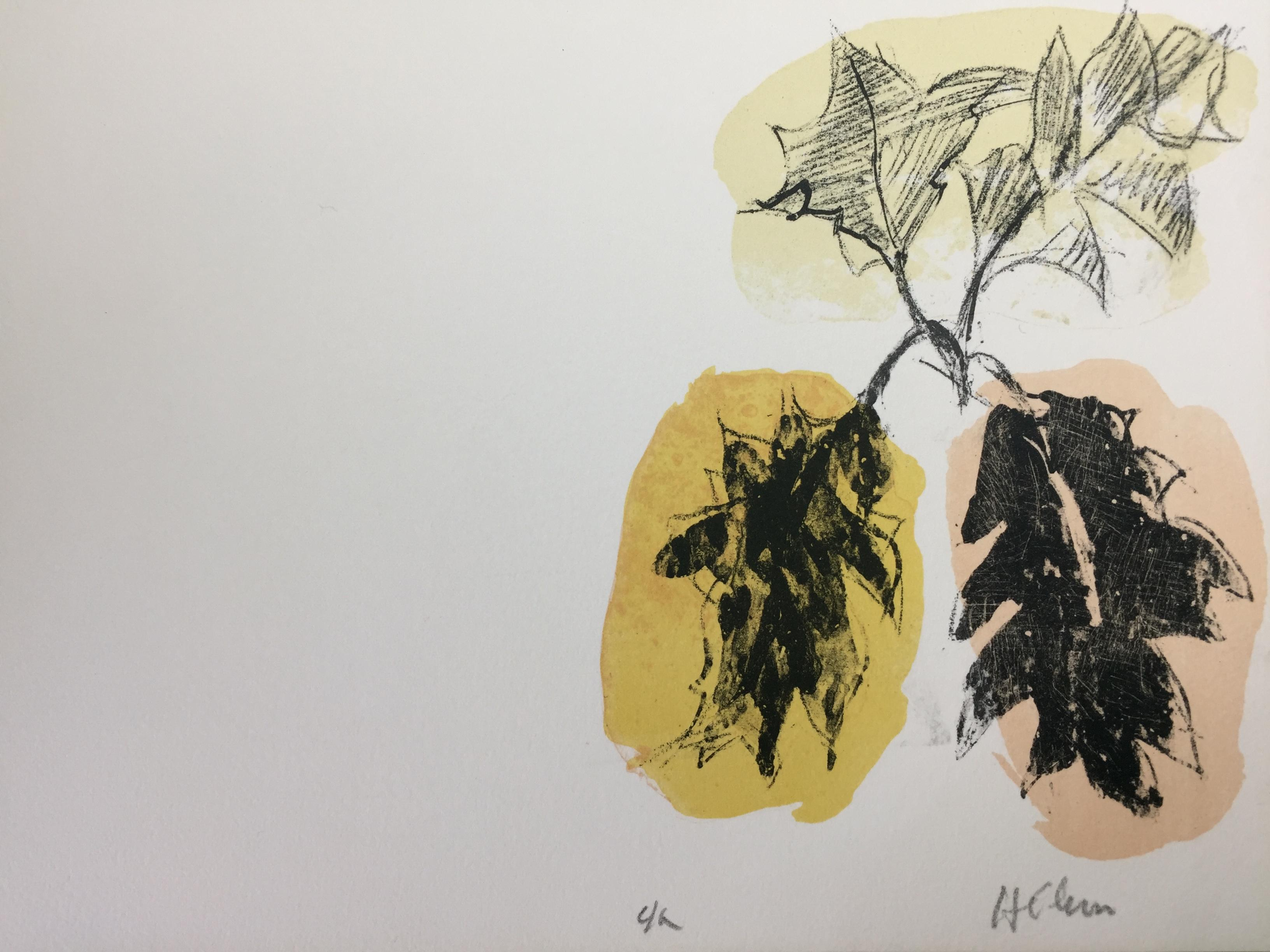 French Modern Drawing by Jean Hélion - Herbiers