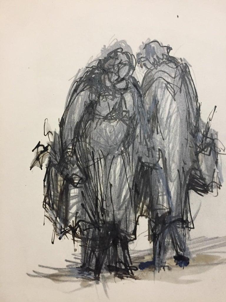 Les Ménagères - Print by Jean Helion