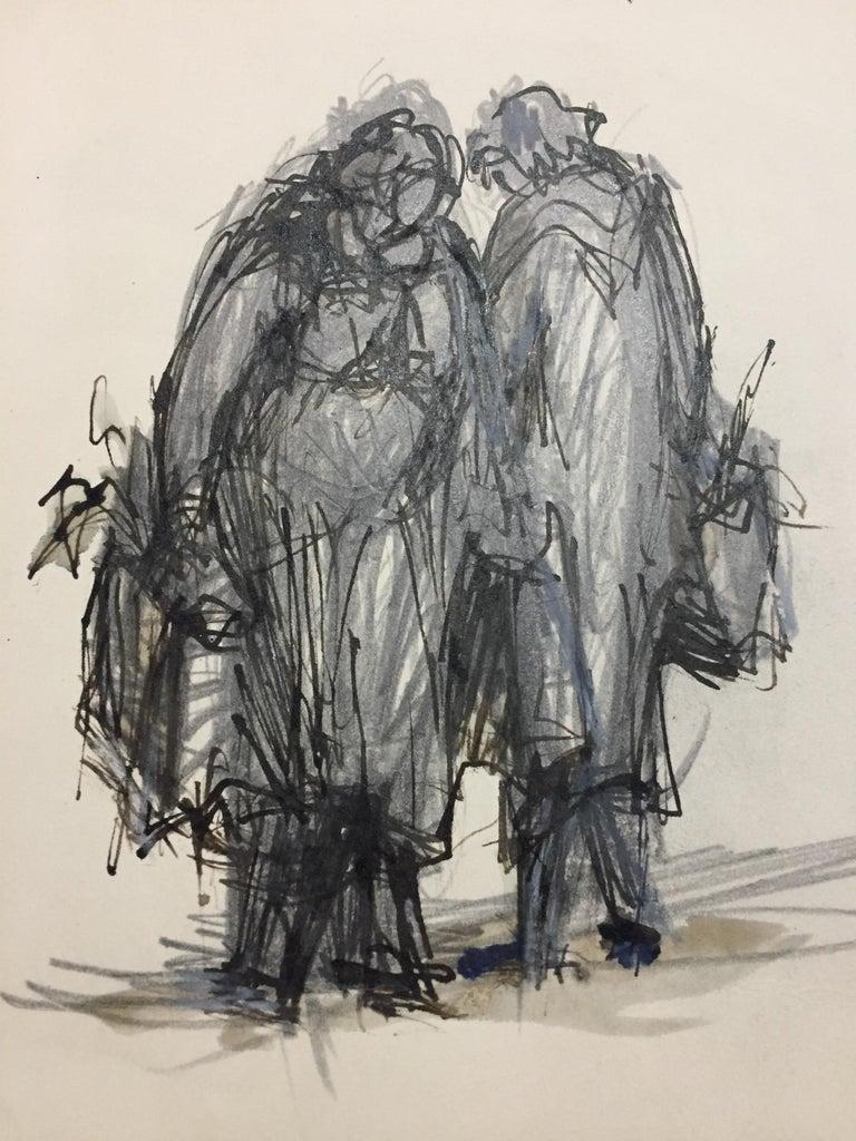 Les Ménagères - Modern Print by Jean Helion