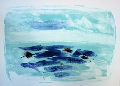 Light on the Sea - Original handsigned lithograph - 50 copies