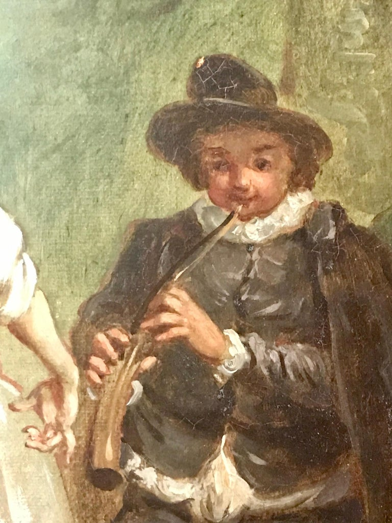 Jean Antoine Watteau, Circle of, 18th Century Large Old Master Painting, France For Sale 2
