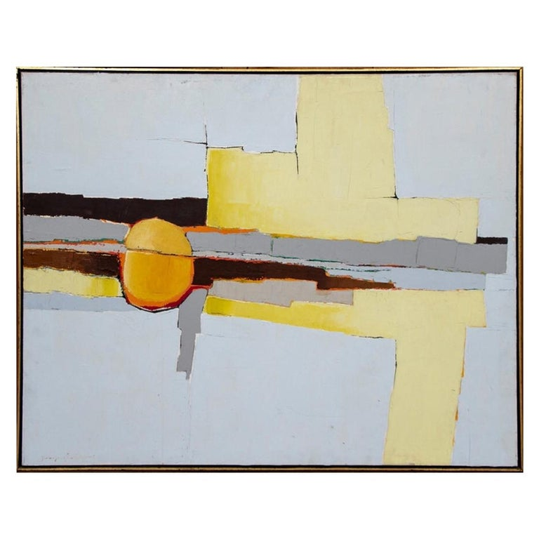 Jean-Jacques Duval Midcentury Acrylic For Sale