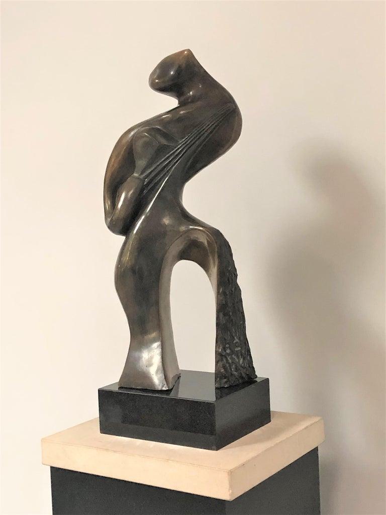 Cast Jean Jacques Porret Bronze Sculpture  For Sale