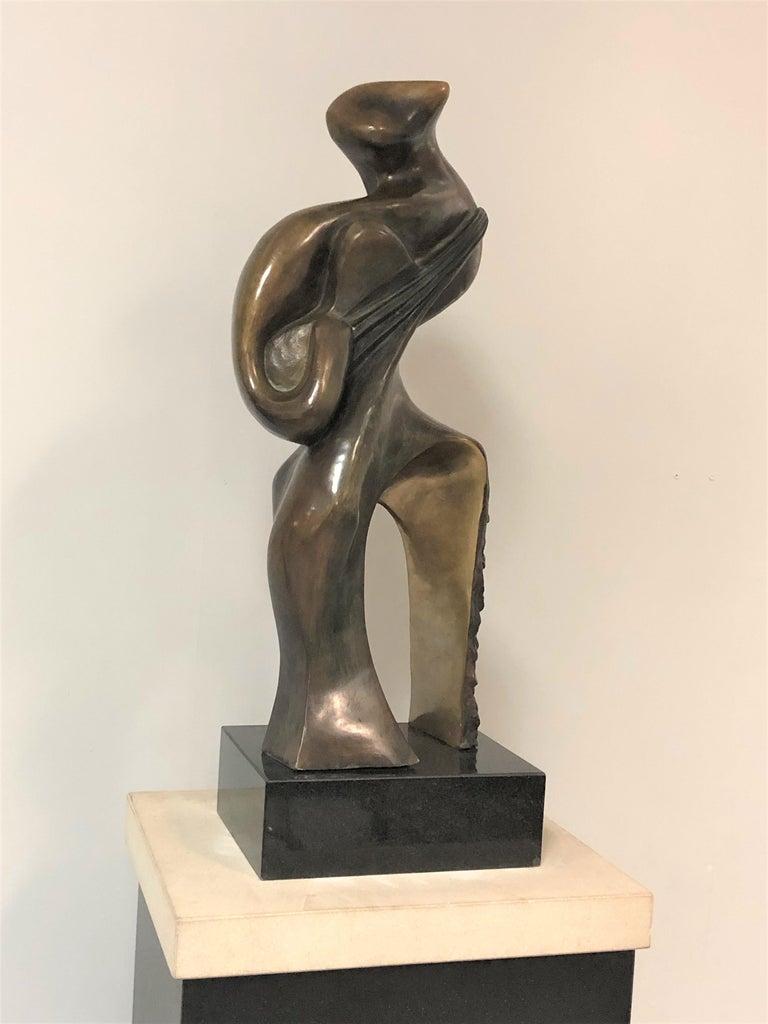 Jean Jacques Porret Bronze Sculpture  In Good Condition For Sale In Miami, FL