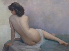 """""""Sulking"""", Oil on Canvas"""