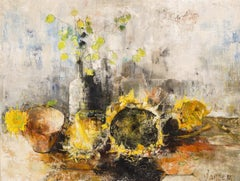 Still Life With Sunflowers, (Nature Morte Aux Tournesols)