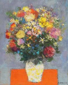 'Spring Bouquet', California, San Francisco Bay Area, 1950's Woman artist