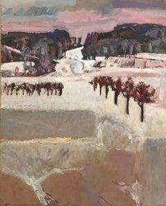 Snowy landscape n°50