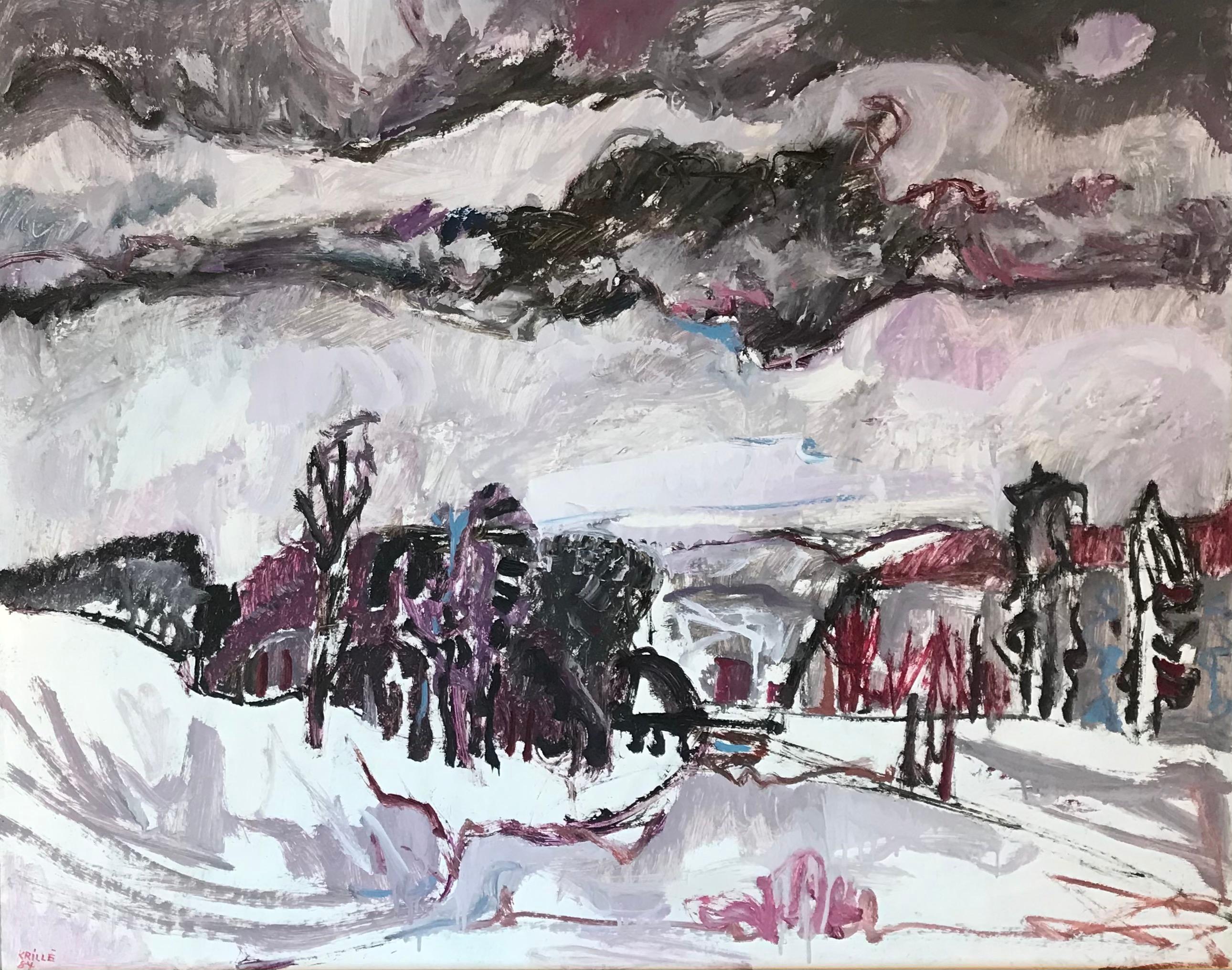 Winter landscape n°15