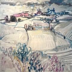Snowy landscape - Tableau n°4