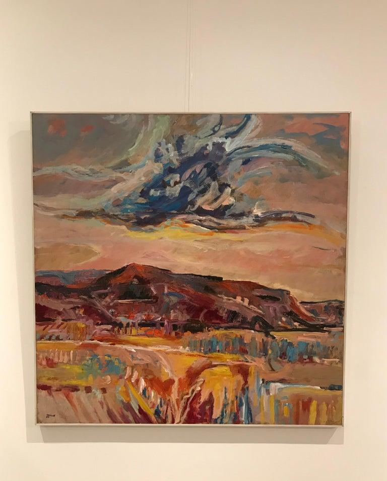 Tableau n°12 - Painting by Jean Krille