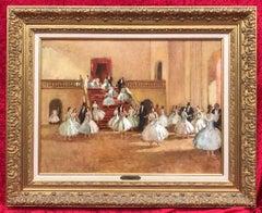Ballerinas at the paris Opera