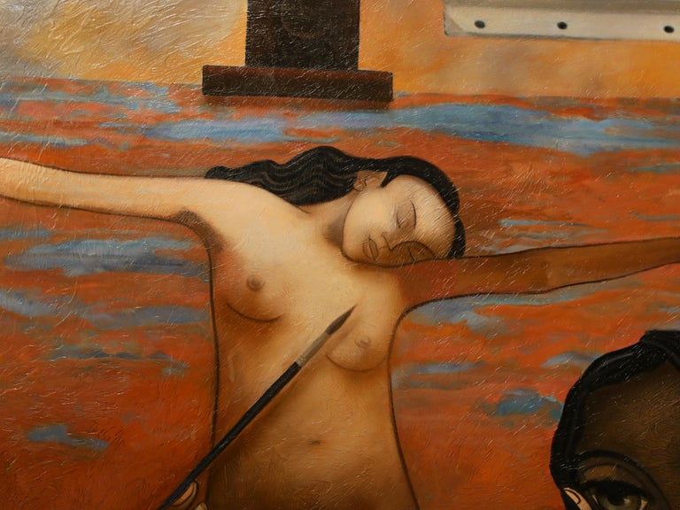 Jean-Louis Mendrisse is a self-taught painter born in 1955 in Clermont-Ferrand. Art, family affairs  Jean-Louis Mendrisse studied the deal with his famous sculptor father, Jean Mosnier, and presented his work in the studio in Montmartre in 1977