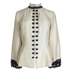 Jean-Louis Scherrer Couture Silk Jacket