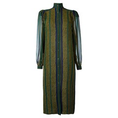 Jean Louis Scherrer Multicolour Silk Dress