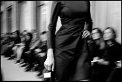 Jerome L' Huillier - Noir - Black and White Photograph of Fashion Show