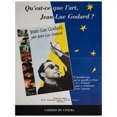 """""""Jean-Luc Godard Par Jean-Luc Godard"""" 1980s French A3 Poster"""