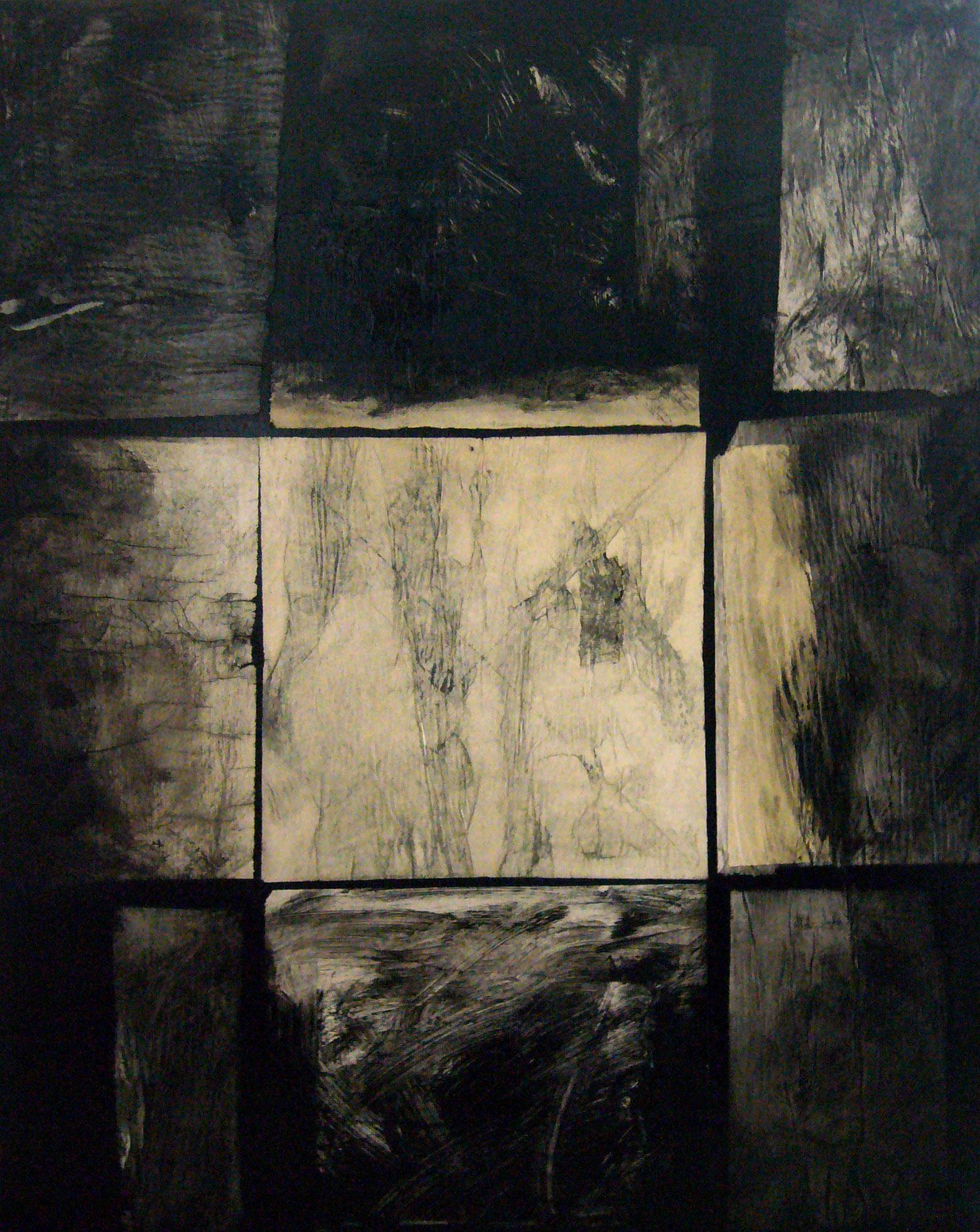 French Contemporary Abstract Art by J.-L. Veret - Hors Champs