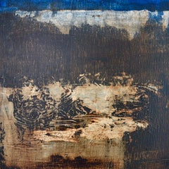 French Contemporary Abstract Art by J.-L. Veret - Non Lieu II
