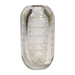Jean Luce, Little Cylindrical Vase, circa 1930