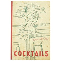 Jean Lupoiu Cocktail Recipes Book Rare 1948 Edition