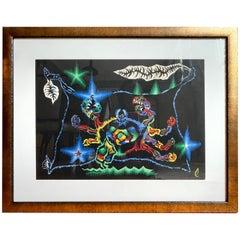Jean Lurcat Cancer Zodiac Tapestry Lithograph