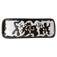 Jean Lurçat Ceramic Decorative Wall Dish France 1950s